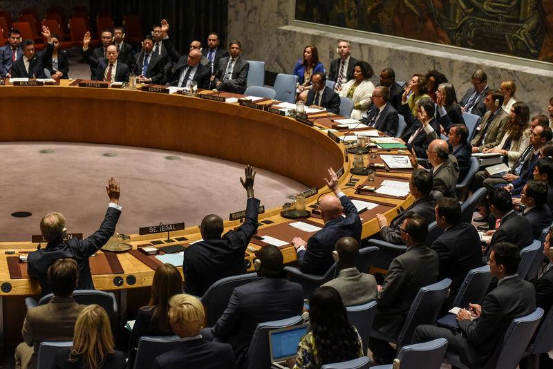 © Reuters. Совбез ООН голосует за введение новых санкций в отношении КНДР