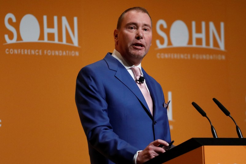 © Reuters. Jeffreу Gundlach, CEO of DoubleLine Capital, speaks during the Sohn Investment Conference in New York