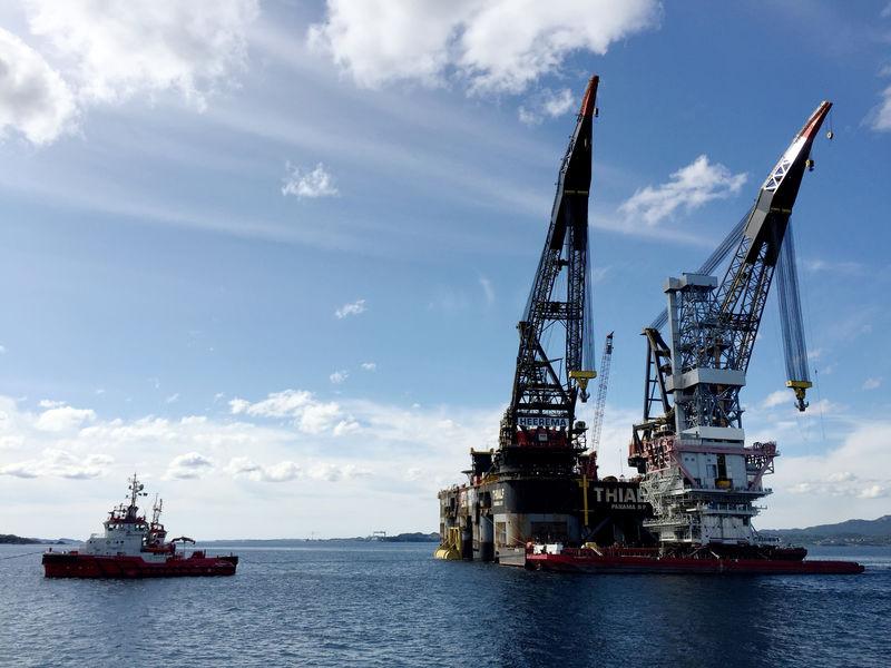 © Reuters. Las reservas globales de petróleo se reducen por la fuerte demanda