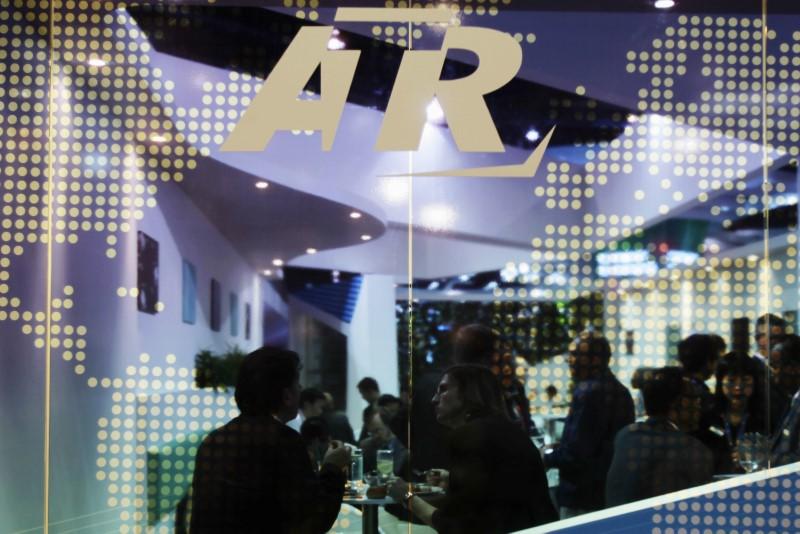 © Reuters. ATR ESTIME QUE LE PROTECTIONNISME CHINOIS FREINE SES AMBITIONS