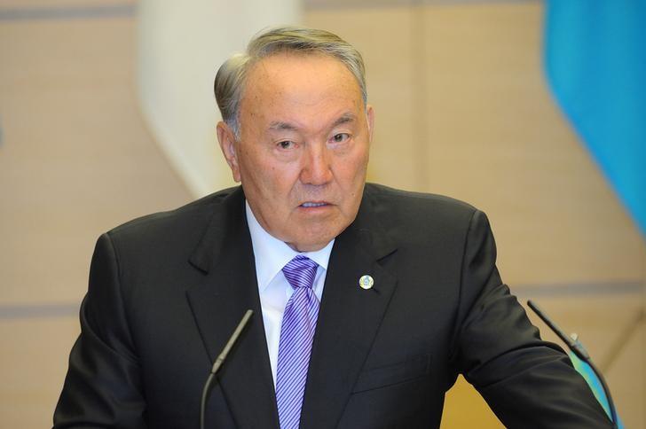 © Reuters. Нурсултан Назарбаев