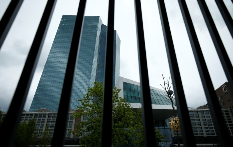 © Reuters. ECB headquarters building is seen in Frankfurt