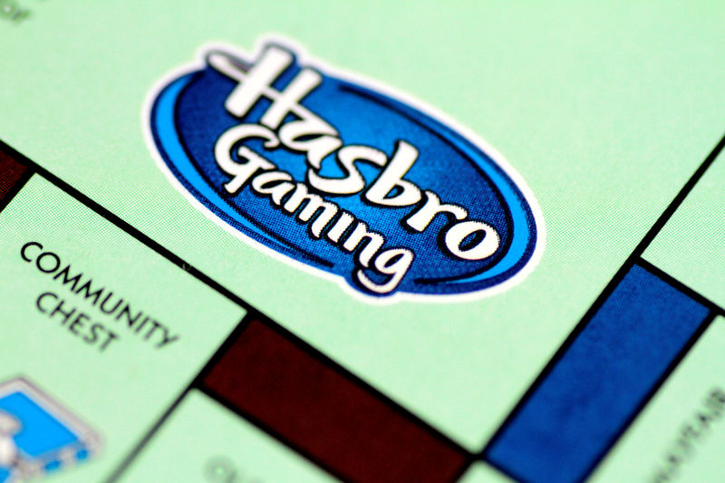 © Reuters. FILE PHOTO: Illustration photo of a Monopoly board game by Hasbro Gaming
