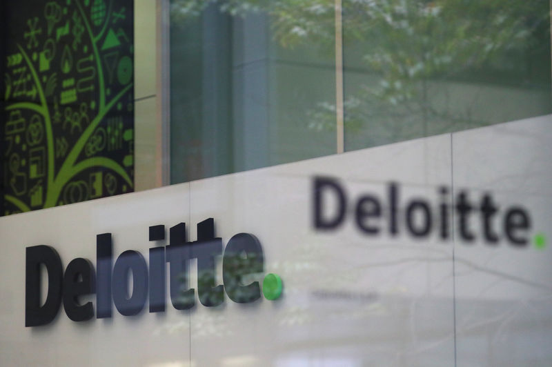 © Reuters. Offices of Deloitte are seen in London