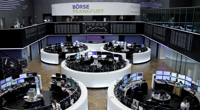 European shares flat after Wall Street tech selloff, Korean tensions