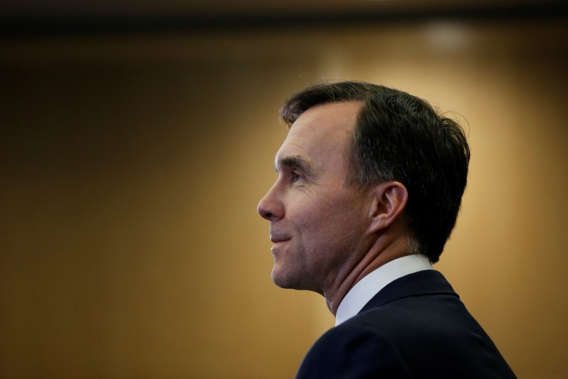 © Reuters. Canada's Finance Minister Morneau listens to a question during a news conference in Ottawa