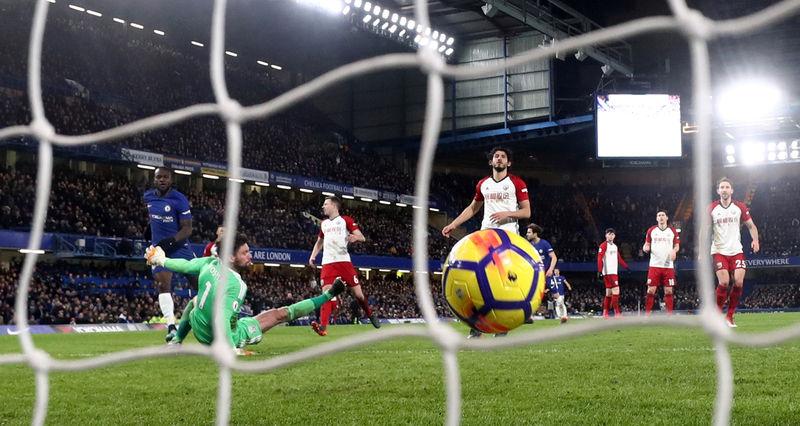 © Reuters. Premier League - Chelsea vs West Bromwich Albion