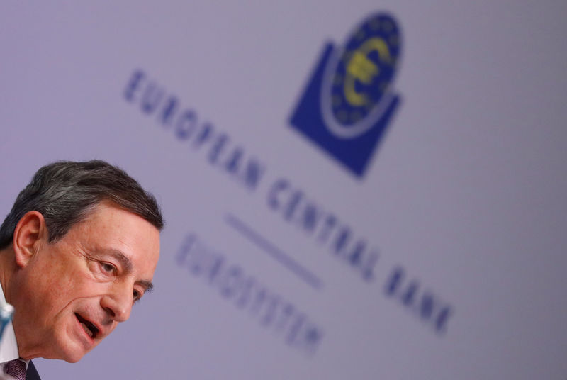 © Reuters. European Central Bank news conference in Frankfurt