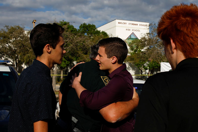 Stunned by massacre, U.S. students demand tighter gun controls