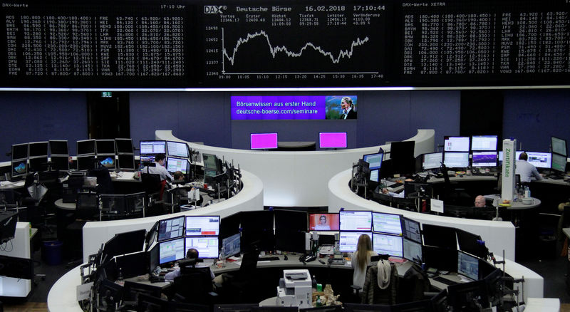 European shares rise, steel stocks gain on U.S. move