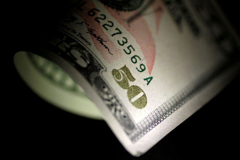 © Reuters. FILE PHOTO: Illustration photo of a U.S. Dollar note