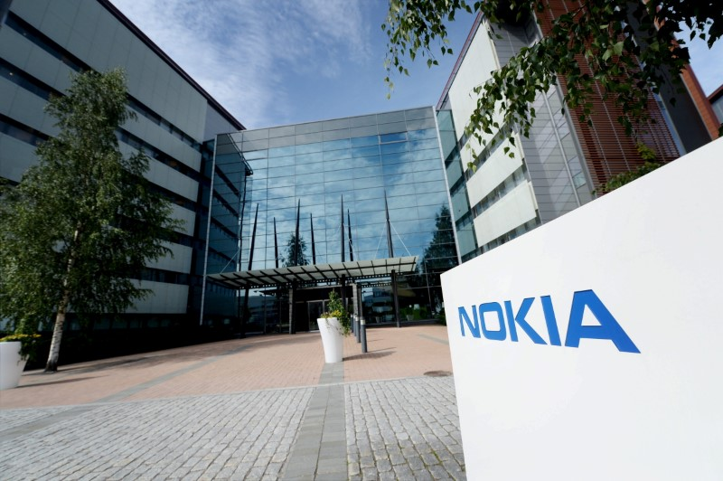 © Reuters. The Nokia headquarters is seen in Espoo