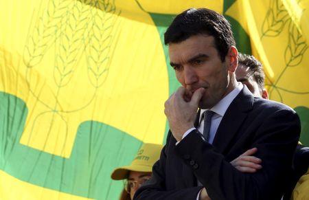 © Reuters. Il vice segretario del Pd Maurizio Martina