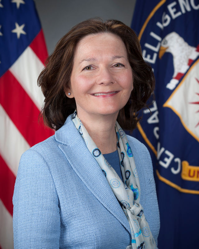 © Reuters. Veteran CIA officer Haspel is shown in handout photograph