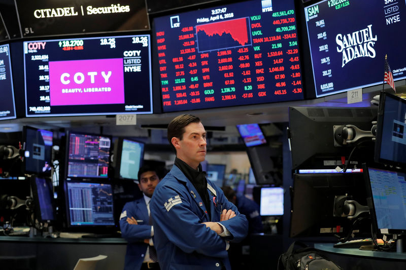 Wall Street ends down 2 percent as trade worries mount By Reuters