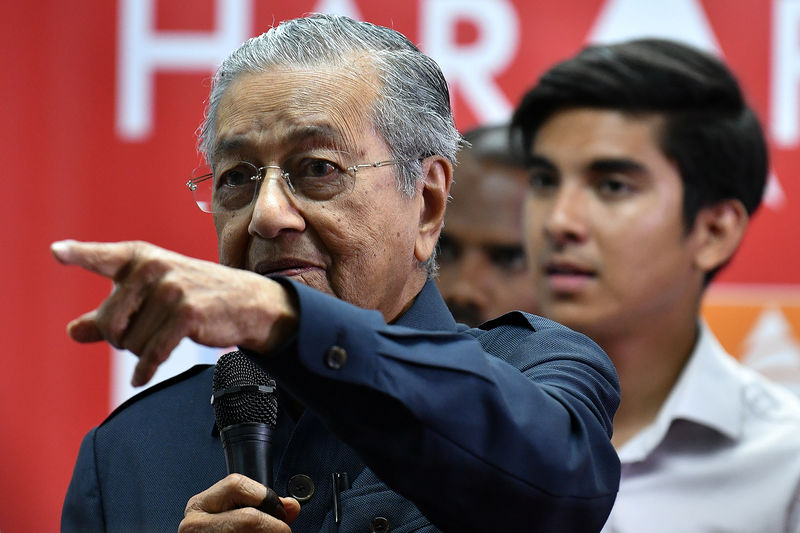 Malaysia's Mahathir vows to investigate toppled government