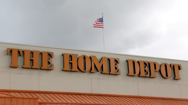 © Reuters. FILE PHOTO: A Home Depot store is shown in the Little Havana neighborhood in Miami