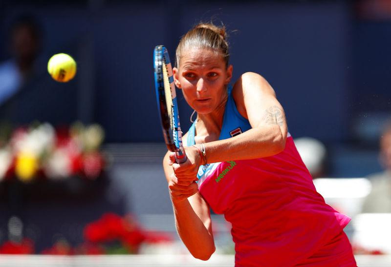 © Reuters. FILE PHOTO:  WTA Mandatory - Madrid Open