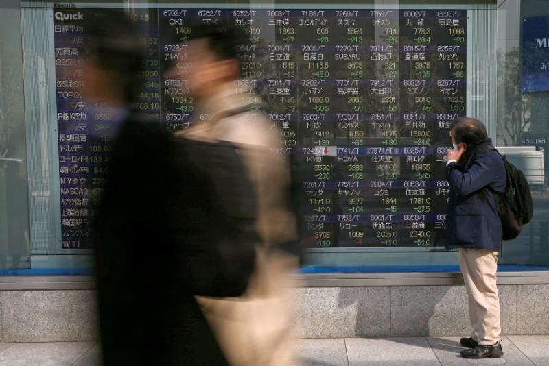 © Reuters. TOKYO FINIT EN HAUSSE