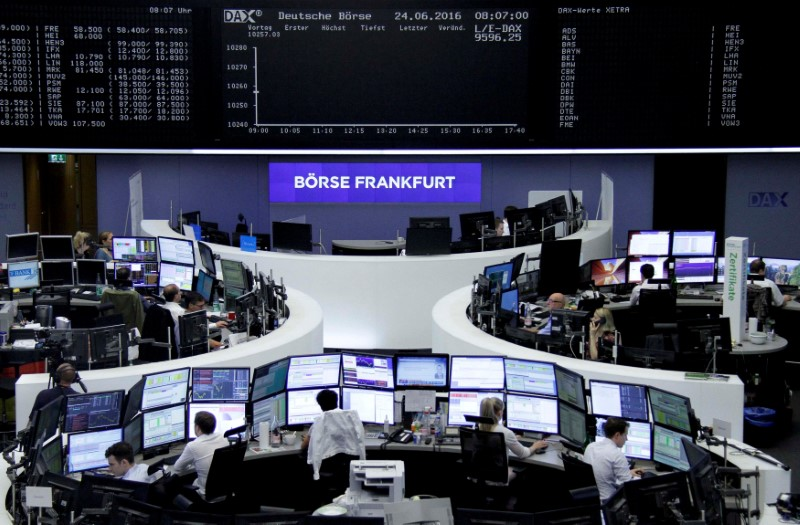 Oil boom sets European shares for best weekly streak since 2014
