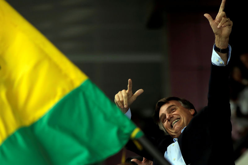 Resultado de imagem para Bolsonaro lidera corrida presidencial em 1º e 2º turnos; Doria e Alckmin têm mesmo patamar, diz pesquisa