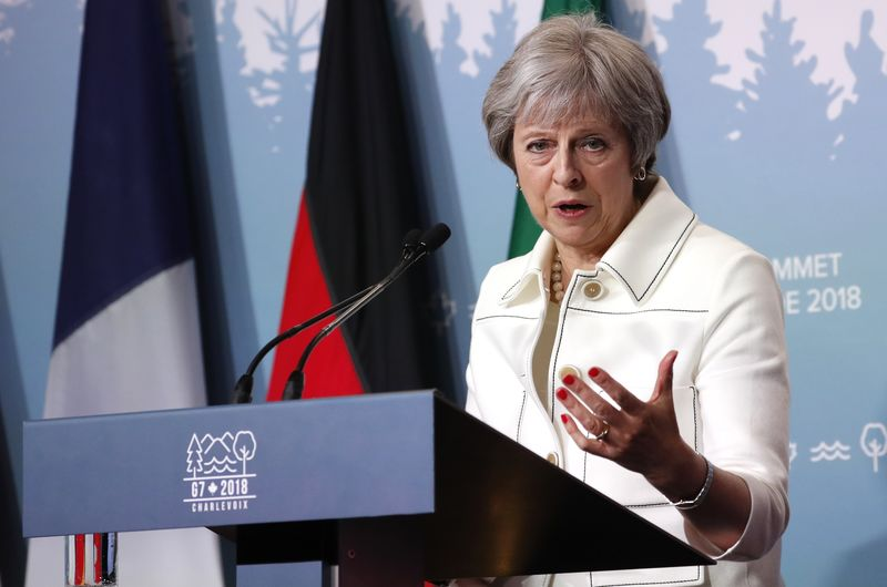 British PM May says hopes UK lawmakers will not block EU exit laws
