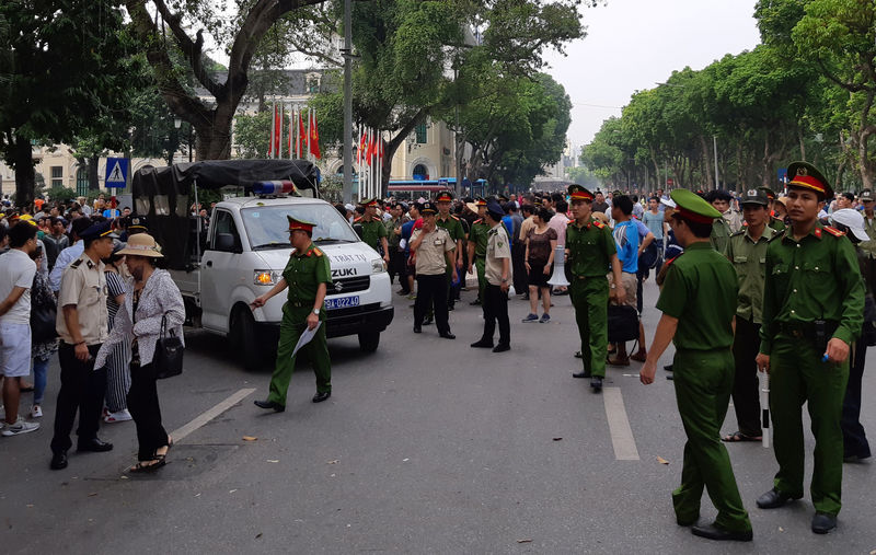 Kết quả hình ảnh cho Vietnam police halt protests against new economic zones