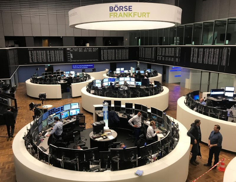 European shares open cautiously after Wall Street's record high