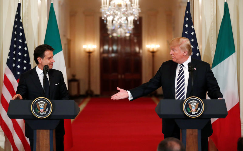 Image result for Trump offered Italy help to fund public debt next year