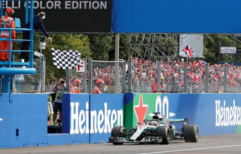 © Reuters. Formula One F1 - Italian Grand Prix
