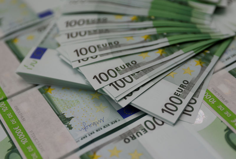 © Reuters. Notas de euros em foto ilustrativa