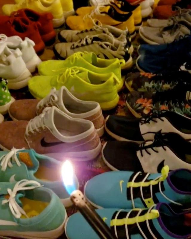 548d93e6d Kaepernick ad spurs Nike boycott campaign By Reuters