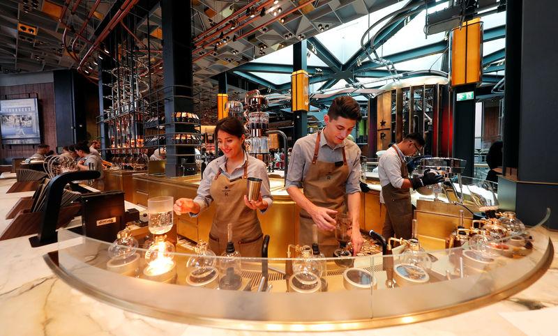 Starbucks' Italian dream comes true, but it is not cheap