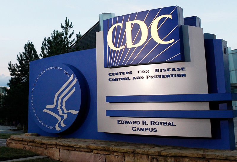 © Reuters. FILE PHOTO: A general view of Centers for Disease Control and Prevention (CDC) headquarters in Atlanta