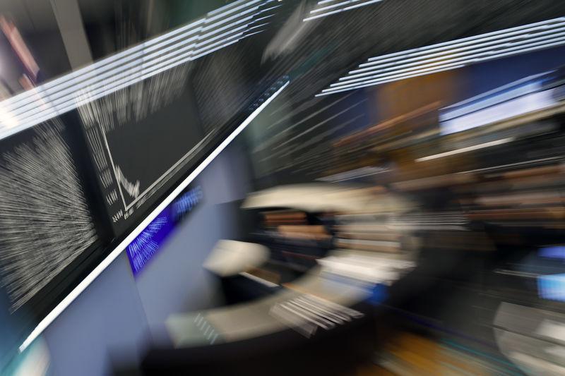 © Reuters. General view of the stock exchange in Frankfurt