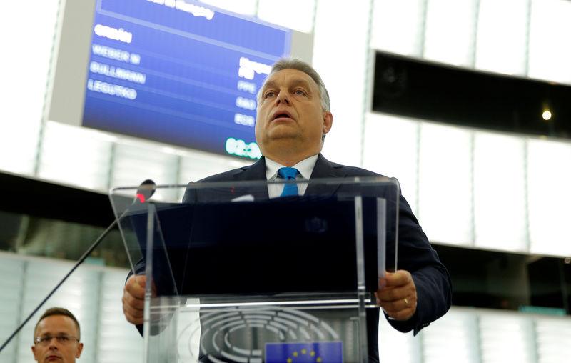 Reuters Il Premier Ungherese Viktor Orban