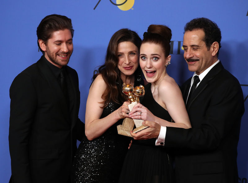 © Reuters. FILE PHOTO: 75th Golden Globe Awards – Photo Room – Beverly Hills