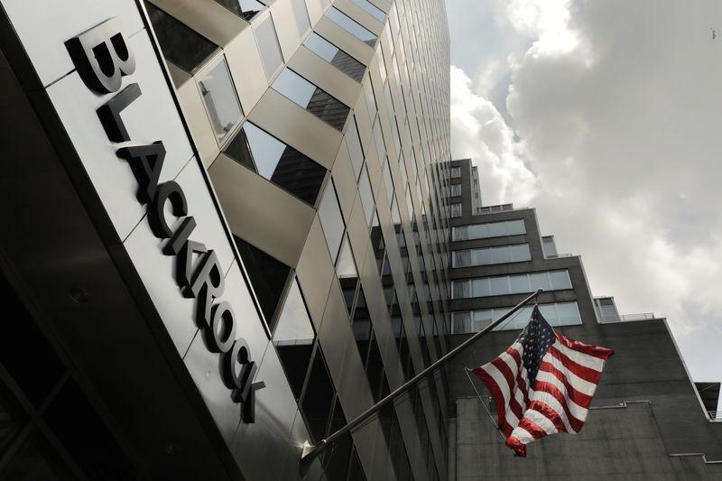 © Reuters. L'AMF AUTORISE BLACKROCK À CRÉER UNE SOCIÉTÉ DE GESTION ALTERNATIVE