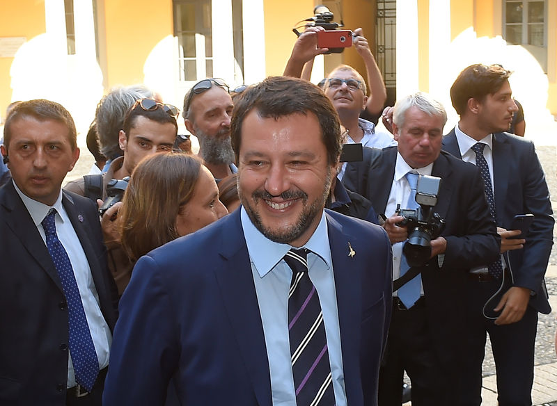 © Reuters. Matteo Salvini.