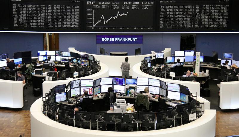 Trade war dents European shares while M&A boosts Sky, Randgold