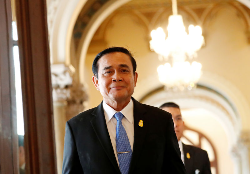 Thai junta chief eyes role in politics after election