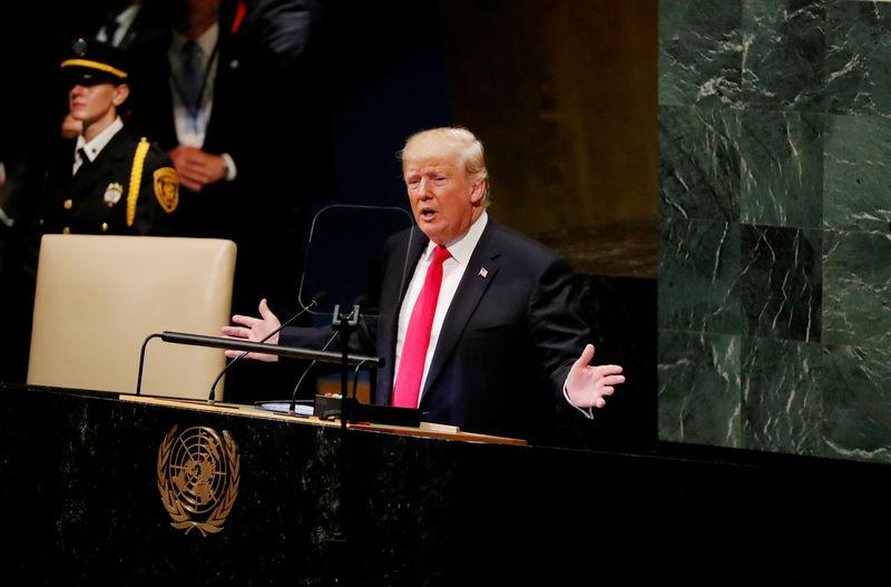 """Trump vertritt vor UN mit Nachdruck """"America First""""-Politik"""