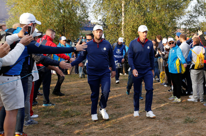 Image result for Finau fires first shot as 42nd Ryder Cup gets underway