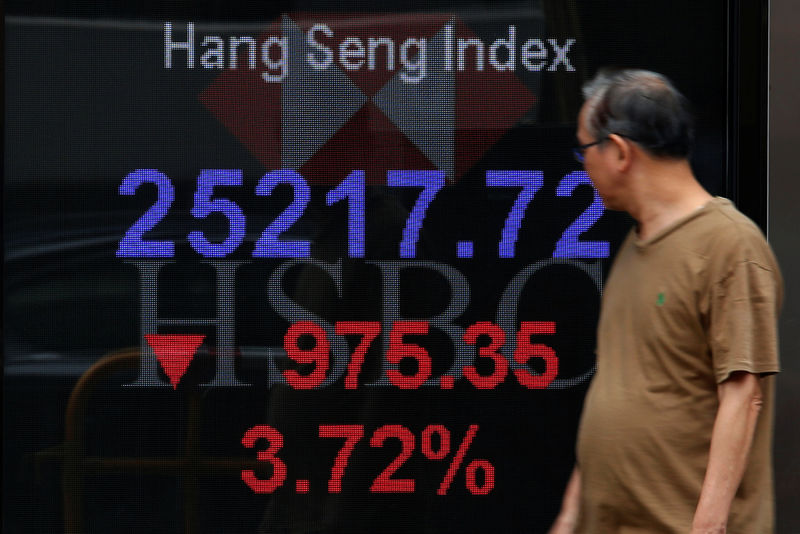 Asia shares swoon to 19-month lows; investors await U.S data