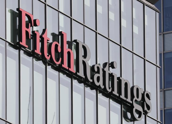© Reuters. Escritório da Fitch Ratings em Londres, Reino Unido