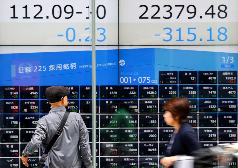نيكي ينخفض 1.40% في بداية التعامل بطوكيو