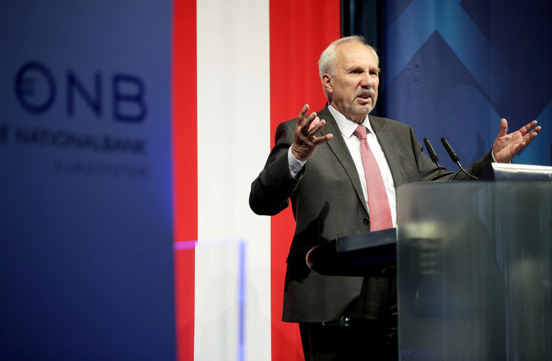 ECB's Nowotny concerned about Italy's debt level: Kurier report