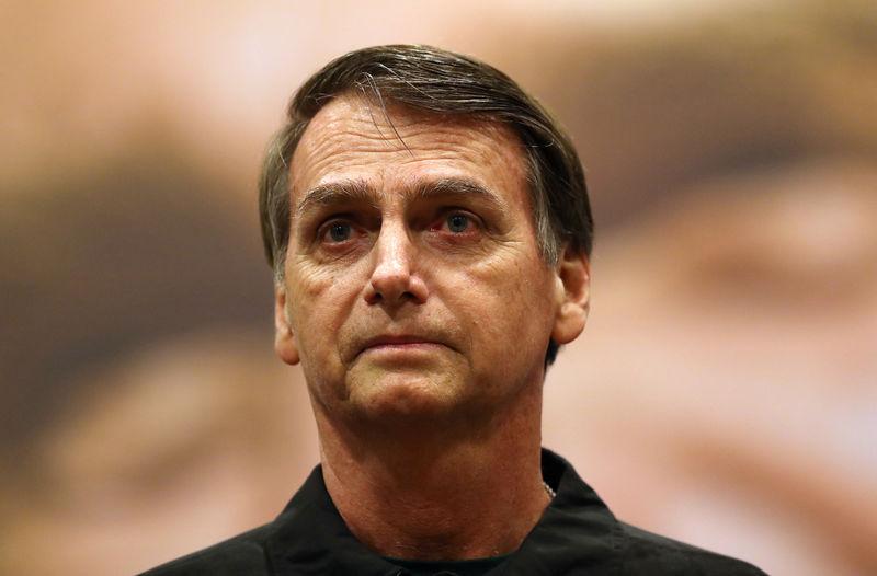 Brazil's Bolsonaro says he can keep central bank chief Goldfajn in the job