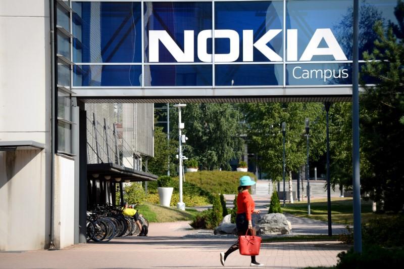 © Reuters. Sede da Nokia em Espoo, Finlândia