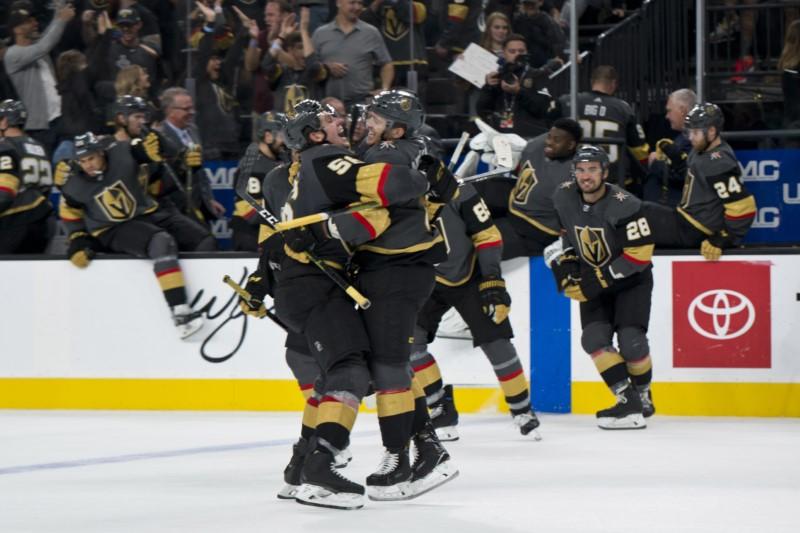 © Reuters. NHL: Ottawa Senators at Vegas Golden Knights